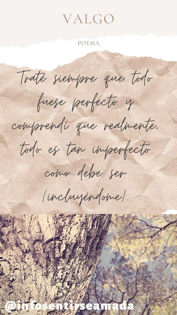 realmente todo es imperfecto